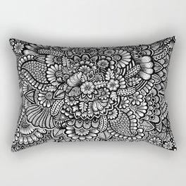 Doodle Rectangular Pillow