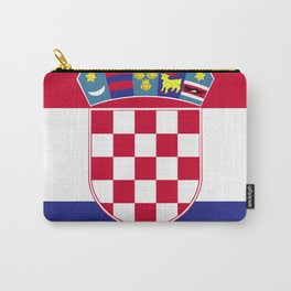 Croatia flag emblem Carry-All Pouch