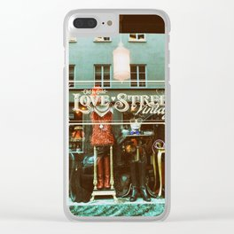 Love Street Clear iPhone Case