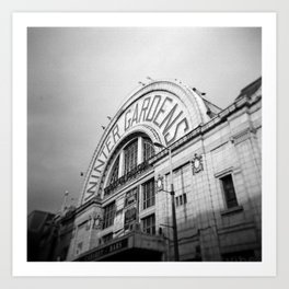 Winter Gardens Art Print