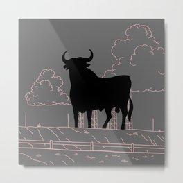 El Toro Metal Print