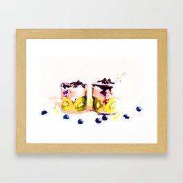 Summer Drinkin' #society6 #decor #buyart Framed Art Print