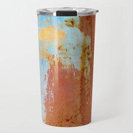 Gold & Rust Travel Mug