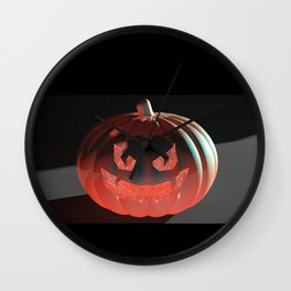 Lantern Jack Wall Clock