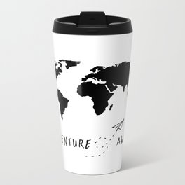 Adventure Map II Metal Travel Mug