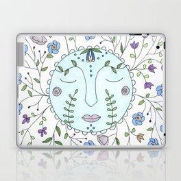 Chanson de la lune bleue Laptop & iPad Skin