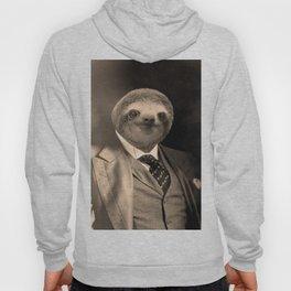 Gentleman Sloth with Monocle Hoody
