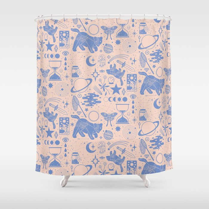 Collecting The Stars Shower Curtain By Camillechew