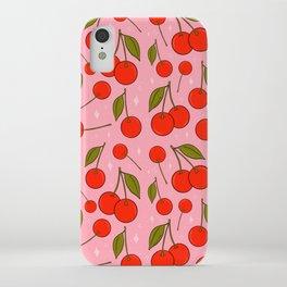 Cherries on Top iPhone Case