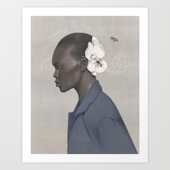 Queen Bee Art Print