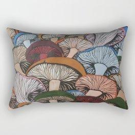 Colorful Mush Rectangular Pillow