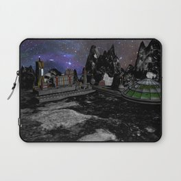 Moon Colony Laptop Sleeve