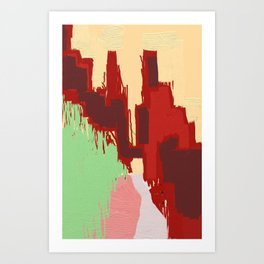 City Three Art Print