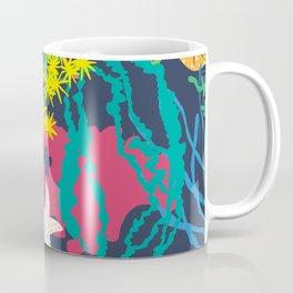 Coral Reef in Navy Coffee Mug