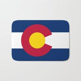Colorado State Flag Bath Mat