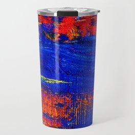 10 - Abstract Epic Colored Moroccan Artwork. Travel Mug