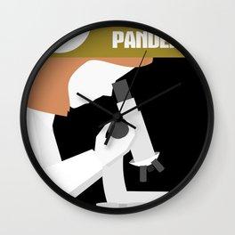 Pandemic - Yellow Wall Clock