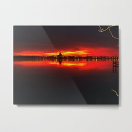 HOPEWELLS VAS RED DELIGHT Metal Print