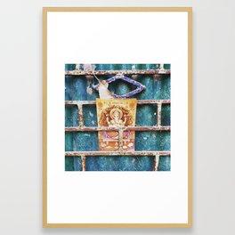 Ganesha in Kolkata India Framed Art Print