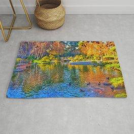 Painted Pond Rug
