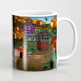Halloween Dream Town Coffee Mug