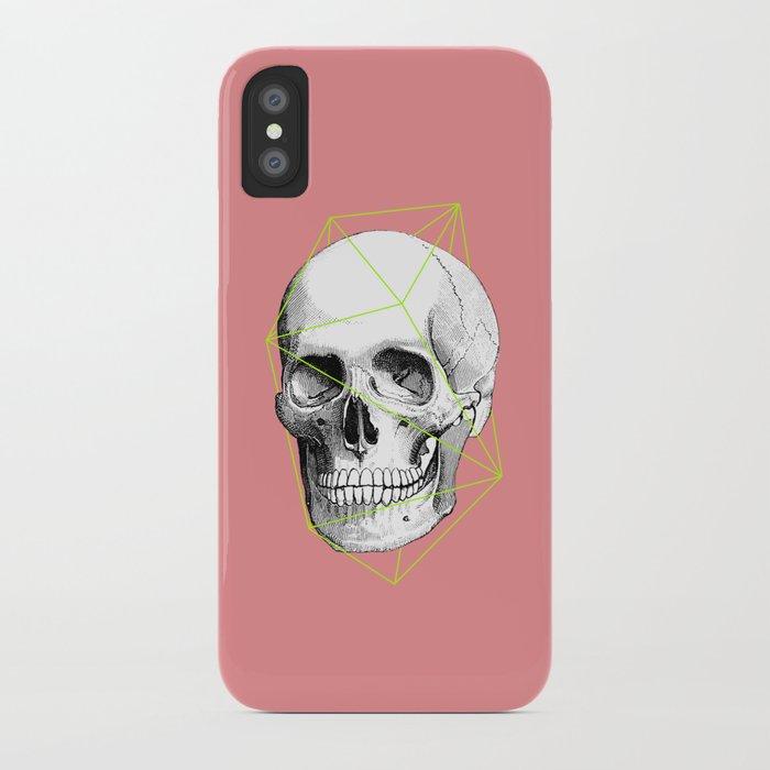 Geometric Skull iPhone Case