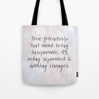 friendship Tote Bags featuring Friendship by C Designz