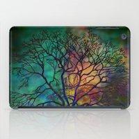 celestial iPad Cases featuring Celestial Phenomenon by Klara Acel