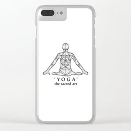 Yoga- the sacred art Clear iPhone Case