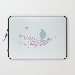 Nest with Bird Laptop Sleeve