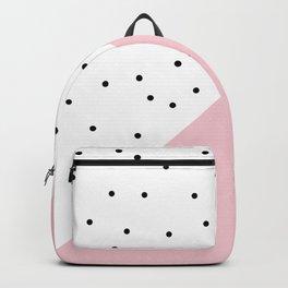 Cute geometric polka dots design Backpack