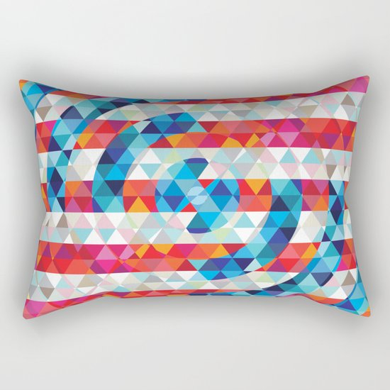 Abstract America Rectangular Pillow