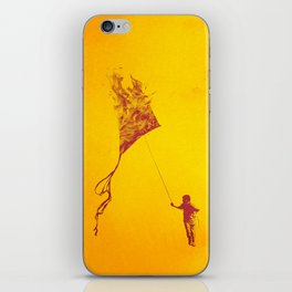 Playing with Fire iPhone Skin