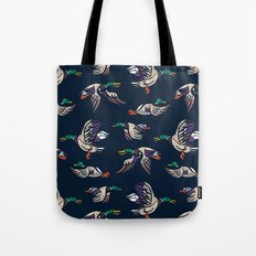 Male Mallard ducks Tote Bag