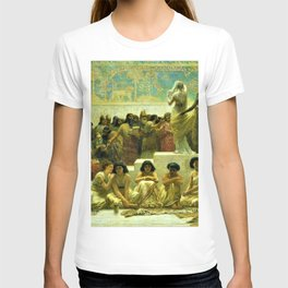 Classical Masterpiece The Slave Market Of Babylon by Edwin Long T-shirt