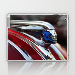 Retro Pontiac hood ornament from the Goodguy's Auto show Laptop & iPad Skin