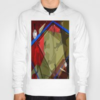 baseball Hoodies featuring Baseball by Robin Curtiss