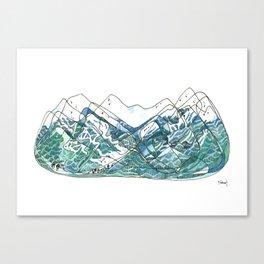 Whistler Blackcomb Canvas Print