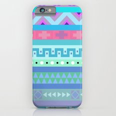 Calm Colored Tribal Print Slim Case iPhone 6s