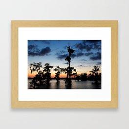 Evening at Lake Martin 2 Framed Art Print