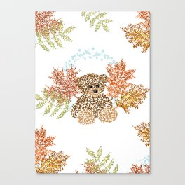 Autumn Bear Canvas Print