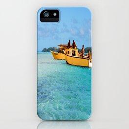 Orange Boats  iPhone Case