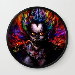 death god Wall Clock