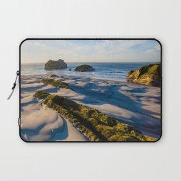 wharariki beach sunset sand dunes natural reserve Laptop Sleeve