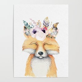 Forest Fox by Nature Magick Poster