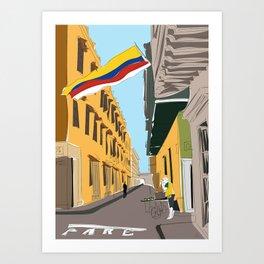 Cartagena de Indias, Colombia Art Print
