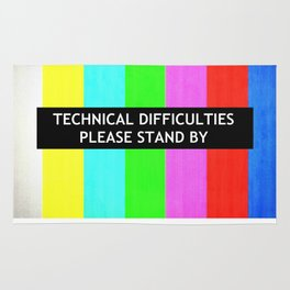 Technical Difficulties  Rug