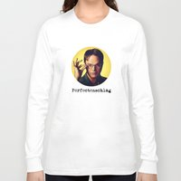dwight schrute Long Sleeve T-shirts featuring Perfectenschlag  |  Dwight Schrute by Silvio Ledbetter