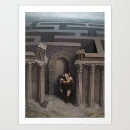 The House Of Asterion Art Print