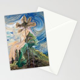 Emily Carr - Sunshine and Tumult - Canada, Canadian Oil Painting - Group of Seven Stationery Cards